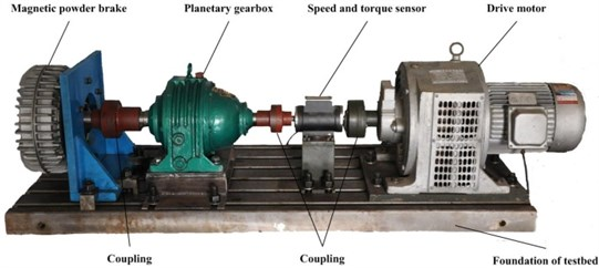 Planetary gearbox experimental system
