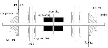 Disc permanent magnet motor-impeller rotor