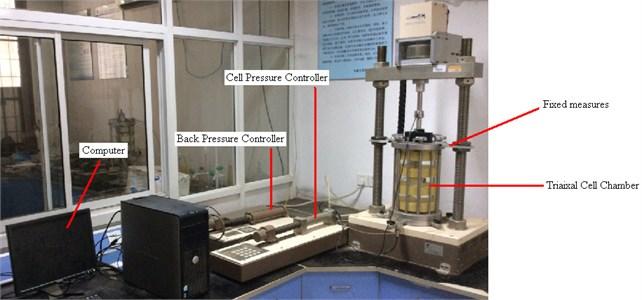 GDS triaxial apparatus