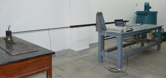 Photograph of the test platform