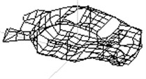 Top 6 modal shape of BIW