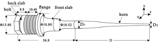a) Schematic of assembly, b) mesh generation for three-dimension finite element model