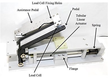 AAP test system and load cell
