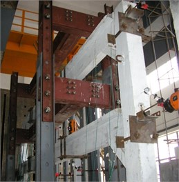Test in the structural laboratory