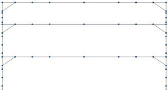 Structural element modeling of study frame