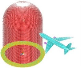 The aircraft hit nuclear power plant