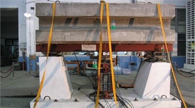 The 1/10 isolated bridge model
