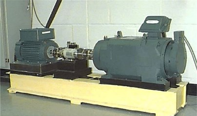 The platform of rolling bearing experiment system