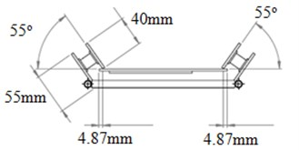Design of the new engine mounting system based on the optimum orientation angle  and location values