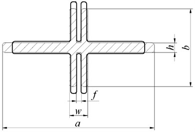 Diagram of the typical part III for the flexible beam before and after optimization