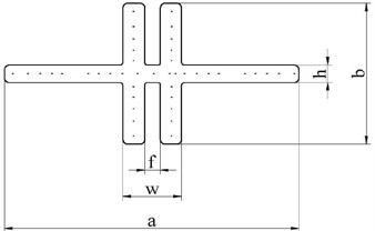 Diagram of the flexible beam
