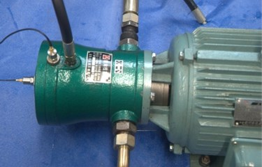 The hydraulic piston pump experiment system