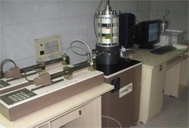 GDS dynamic triaxial equipment