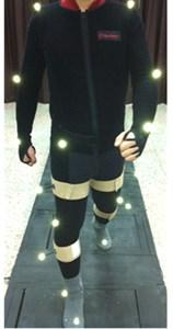 Human gait experiment