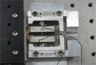 Diagram of the real ultrasonic motor