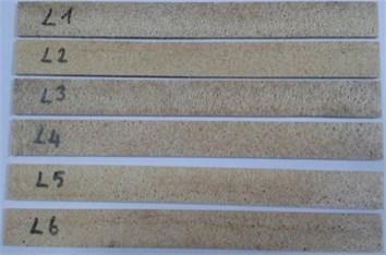 Produced bio-composite beams