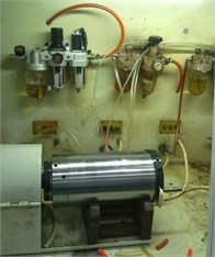 Active balancing experiment platform of motorized spindle