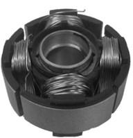 Manufactured piston and piston block