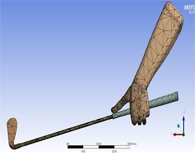Meshed 3D HAGCM model