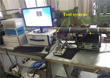 The water lubrication system and the test process