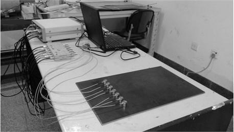 Pencil-lead broken experiment setup