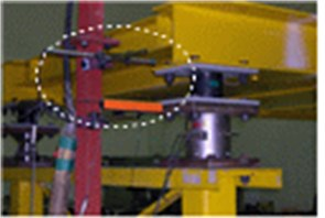 Installation of measurement equipment for miniature bridge