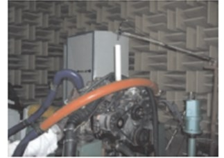 Extraction experiment of sound source by four-load method