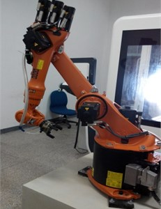Robot's state of motion at the limit position
