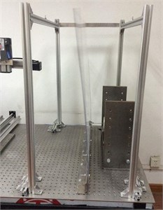 Reconstruction performance for dynamic vibration at the second-order natural frequency