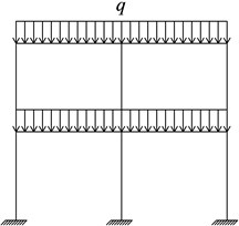 Sketch of RC plane frame