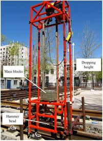 The automatic dropping hammer device