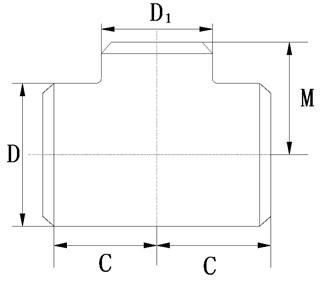 Tee schematic diagram