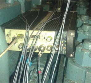 Apparatus used for measurements  B&K 3560-B-120