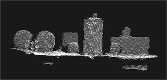 Filtered point cloud model