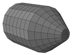 The finite element model of reamer