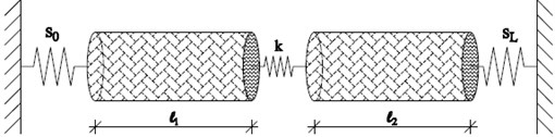 A cracked nanorod with deformable boundary conditions
