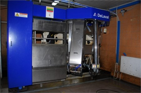 Delaval automatic voluntary milking system