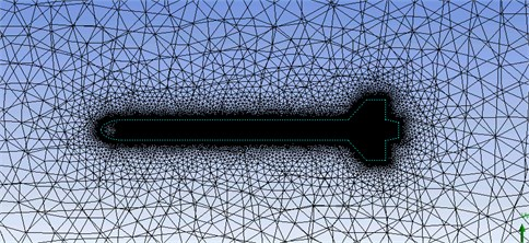 Computational grid cuts at different locations