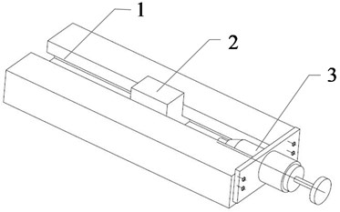 Schematic diagram of friction device