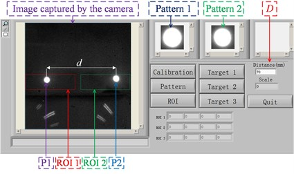Vision-based multi-point displacement measurement system software