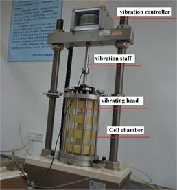 GDS dynamic triaxial apparatus