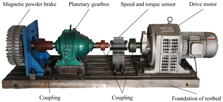 Planetary gearbox experiment rig