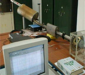 Transmission loss experiment of mufflers
