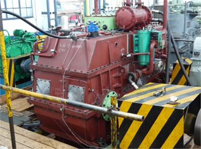 The test site of radiation noise of marine gearbox