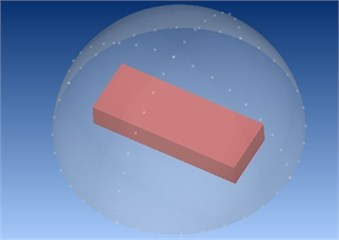 Numerical computation of far acoustic field