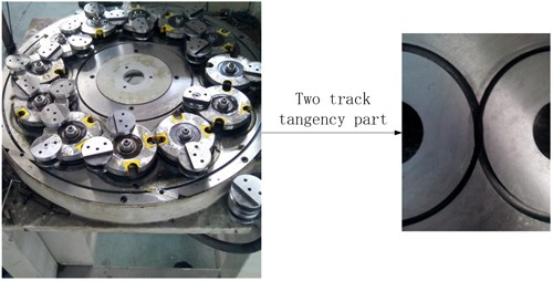 TEC trajectory braiding machine