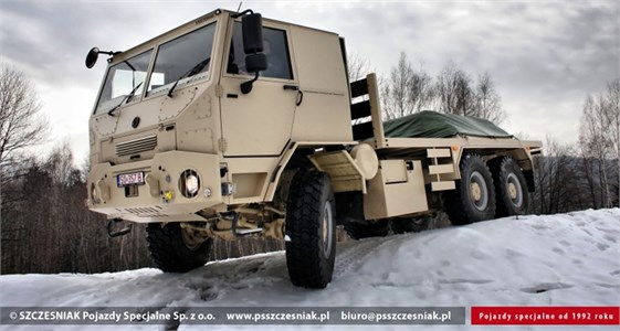 Sample special-purpose vehicle intended for fire brigades [23]