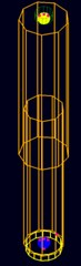 Model of shock absorber element and its characteristic [4]