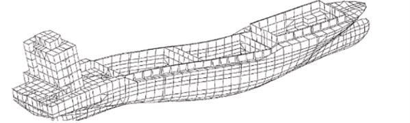 Deckhouse model and bending modes [3]