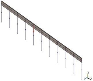Half-track numerical models